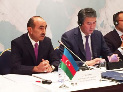 Ali Hasanov participates at Turkic Council meeting