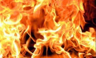 В доме торжеств произошел пожар