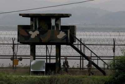 North and South Korea  fired exchange fire at western border