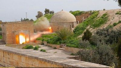IS demolishes ancient monastery in  Syria