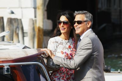 George and Amal Clooney fighting over his Lake Como house