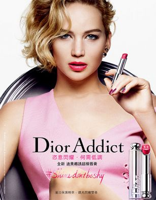 Дженнифер Лоуренс снялась в новой рекламе Dior ФОТО