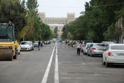 Улица Ахмеда Джамиля сдана в пользование водителям в обновленном виде ФОТО