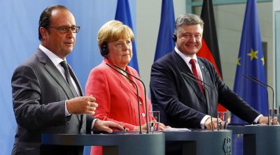 Minsk peace deal on Ukraine must be respected: German Chancellor
