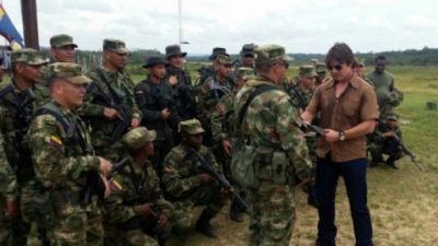 Tom Cruise in Colombian Amazon
