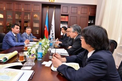 Elmar Gasimov meets with Japanese Petroleum Specialists