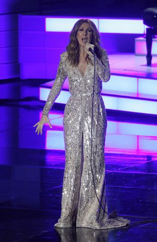 Celine Dion returns to stage