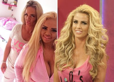 Mom and daughter spent £56,000 to look exactly like Katie Price