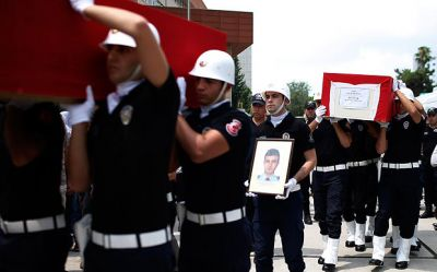 Turkey: Two policemen killed