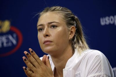 Maria Sharapova withdrew from U.S. Open