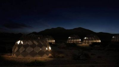 A tent invented for refugees