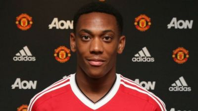 Manchester United signs Martial for €49 million