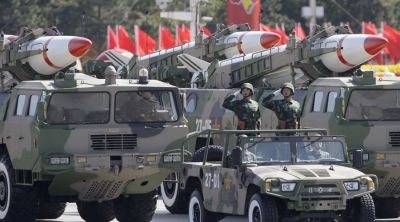 12,000 troops & missile might expected in China's V-Day parade