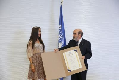 Leyla Aliyeva meets FAO Director-General