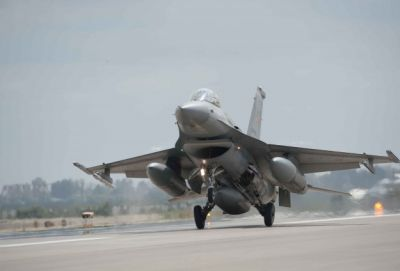 F-16s respond to attack on troops in southeast Turkey