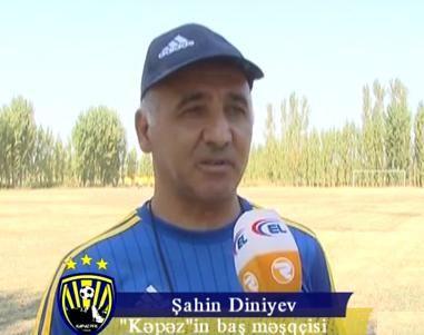 """Şahin Diniyev """"Kəpəz""""in hazırlığından danışdı - VİDEO"""