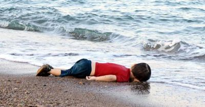 Drowned migrant child's photo sparks outcry