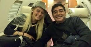Марадона женится на 24-летней девушке