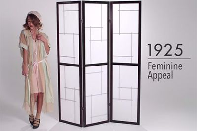 Эволюцию женского нижнего белья за 3 минуты