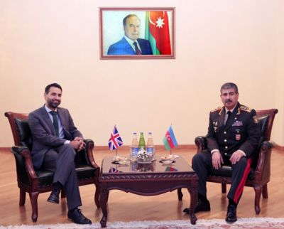 Azerbaijan, Great Britain discuss military cooperation