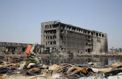 Monument to be built on Tianjin blast site