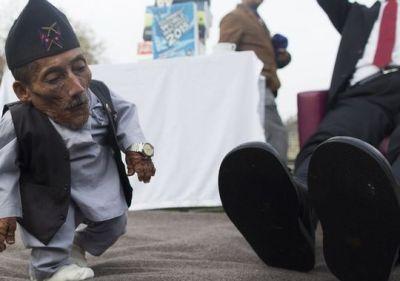 The world's shortest man died
