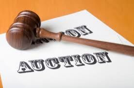 An auction to be held
