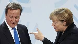 Меркель назвала Кэмерона вредителем и заявила, что его все ненавидят