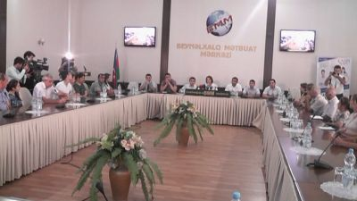 «Каспий» провела традиционную пресс-конференцию ФОТО