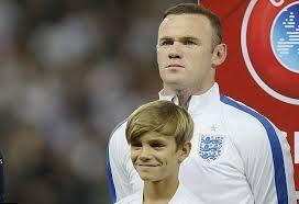 Сын Бекхэма стал талисманом сборной Англии по футболу