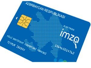 Most e-signature cards issued to government agencies in Azerbaijan