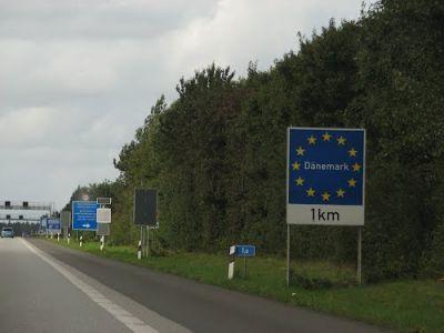 Denmark closed border with Germany