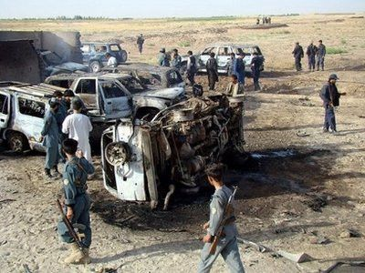 Roadside bomb kills 5 Afghan police officers
