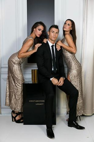 Cristiano Ronaldo launches debut fragrance with glitzy bash