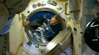 Russian cosmonaut back after record 879 days in space