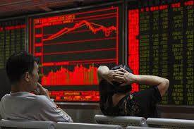 Chinese shares fall sharply