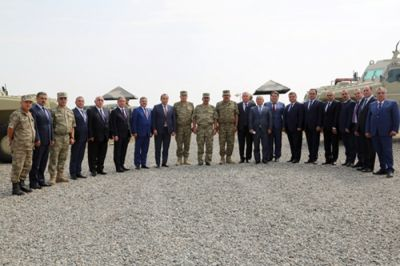 Azerbaijan finishes command-staff military exercises