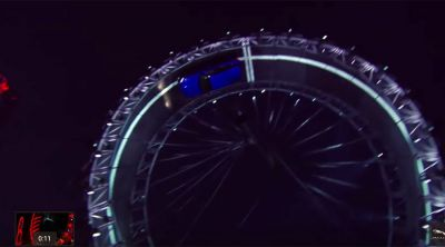 Jaguar SUV performs Guinness world record-breaking 360 degree loop
