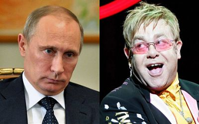 Putin's spokesman rejected Sir Elton John's claim