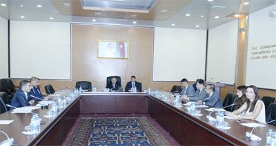 Working Group of SPECA-TASIM-CAREC's first meeting held