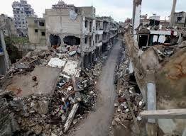 Разрушенный сирийский город показали в формате «360 градусов»