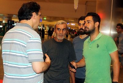 Freed Turkish abductees arrive in Istanbul