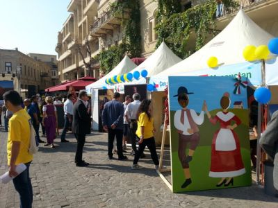 """Eurovillage 2015"" opened in Baku"