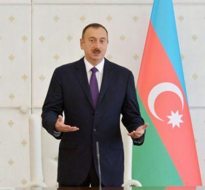 Ильхам Алиев поздравил азербайджанский народ с Гурбан байрамы