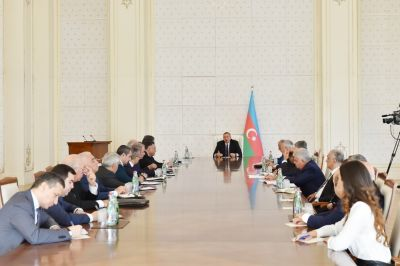 Azerbaijani President chairs first meeting of fourth Islamic Solidarity Games Organizing Committee
