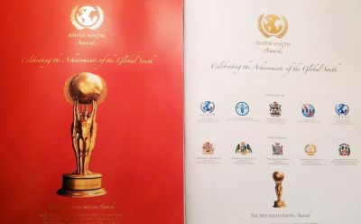 Azerbaijani President honored with South-South Awards