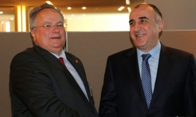 Elmar Mammadyarov met with Foreign Minister of Greece