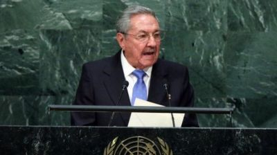 Castro calls for US to lift trade embargo