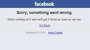 Facebook down for the second time in a week