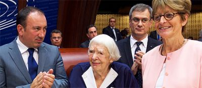 Václav Havel Human Rights Prize 2015 awarded to Ludmilla Alexeeva